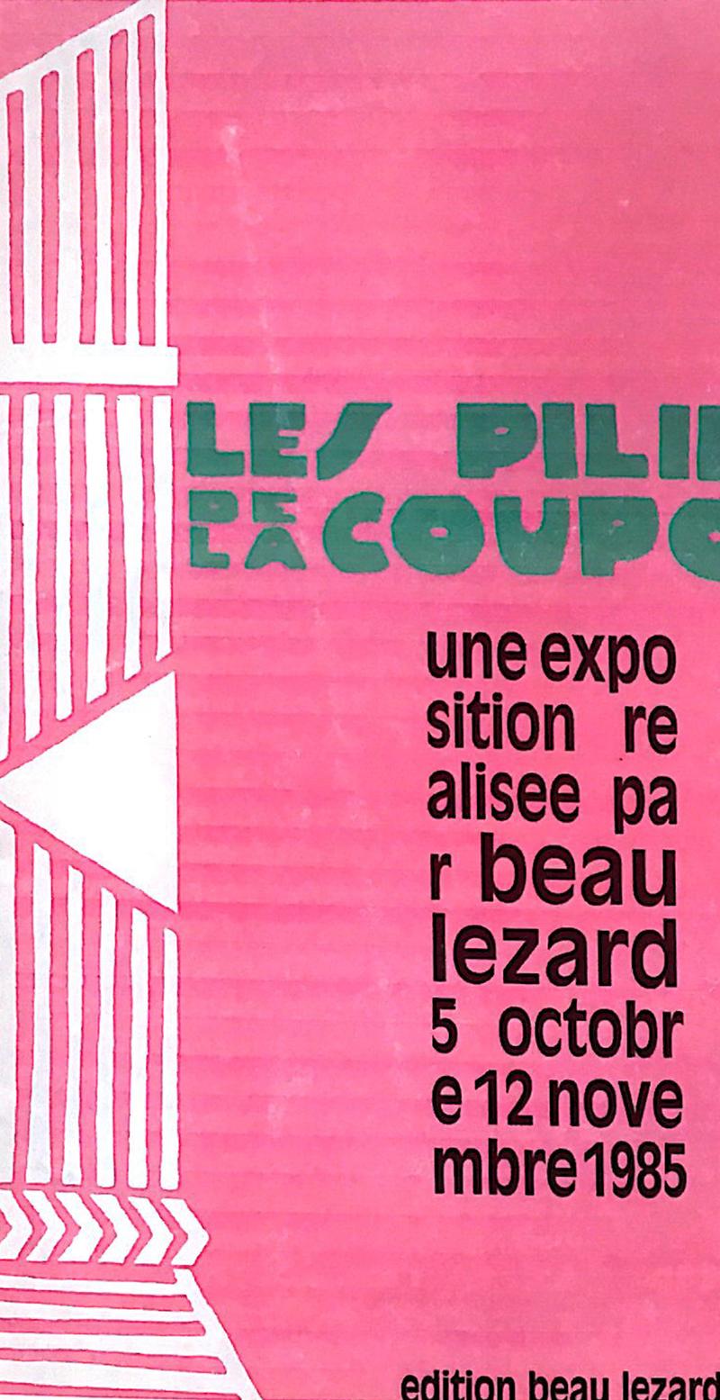 LES PILLIERS DE LA COUPOLE
